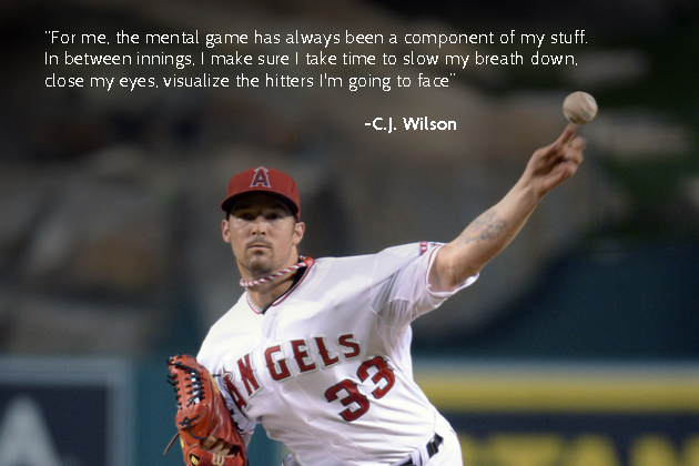 CJ Wilson - Sport Psychology Quote