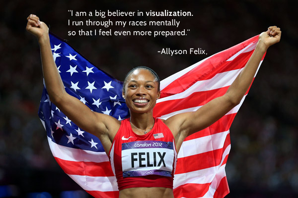 Allyson Felix - Sport Psychology Quote